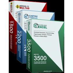 Excel Planilhas + Manual de Multas + Cartas Comerciais